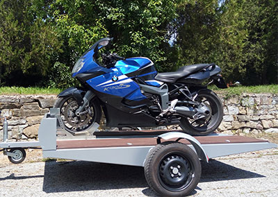 ATV 750 – automobile  trailer for АТV/motorbikes