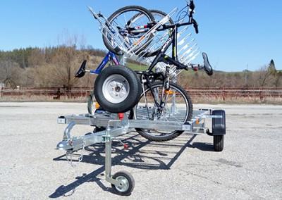 BIKE 16 – ремарке за транспорт на 16 бр. велосипеди